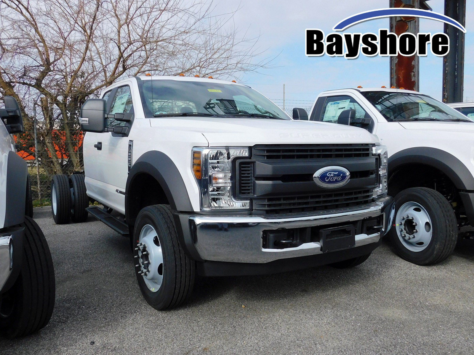 NEW 2019 FORD SUPER DUTY F-550 DRW TRUCK, CAB CHASSIS TRUCK #7010