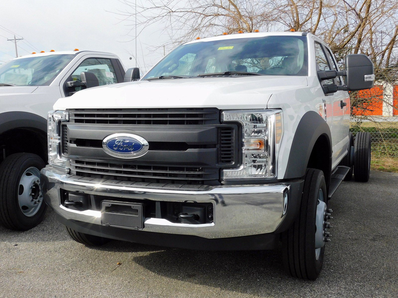 NEW 2019 FORD SUPER DUTY F-550 DRW TRUCK, CAB CHASSIS TRUCK #7010-2