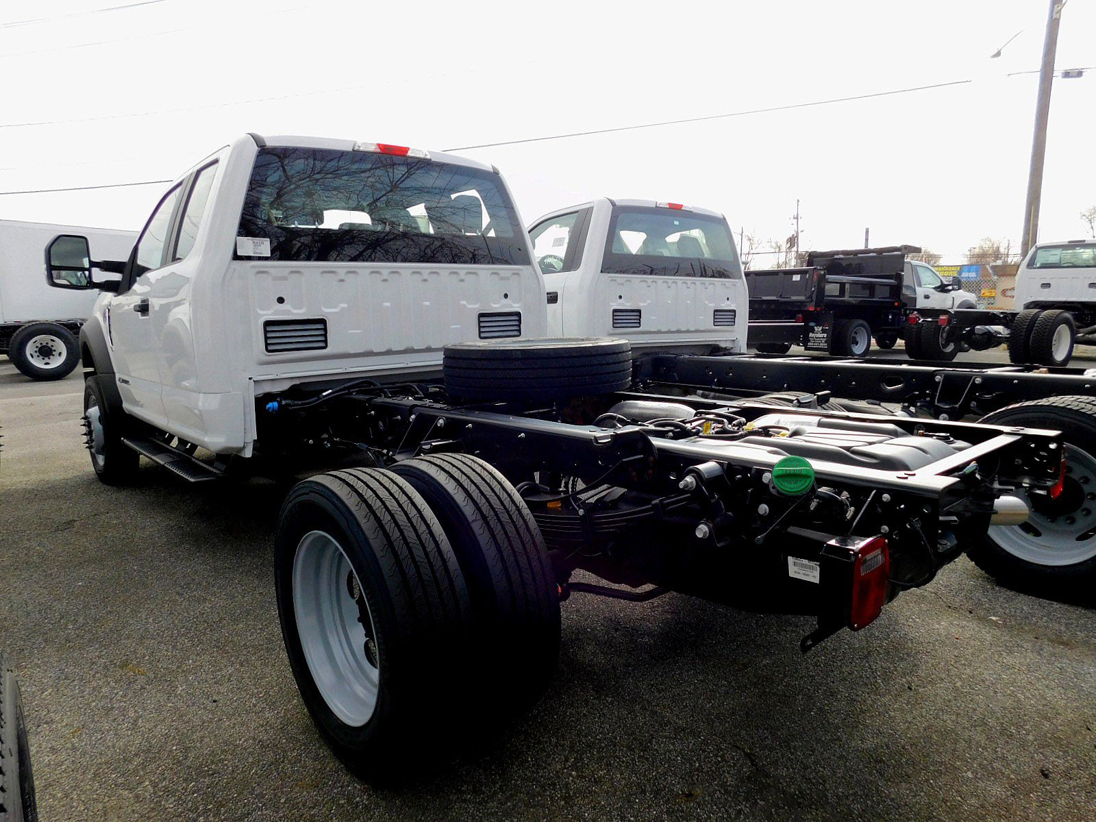 NEW 2019 FORD SUPER DUTY F-550 DRW TRUCK, CAB CHASSIS TRUCK #7010-3