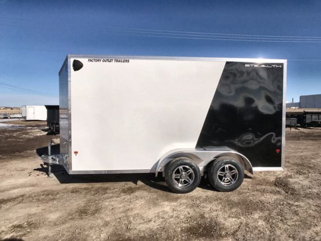 2020 Cargo Pro Stealth 7x14 Tandem Axle W/ 7000 lbs GVWR