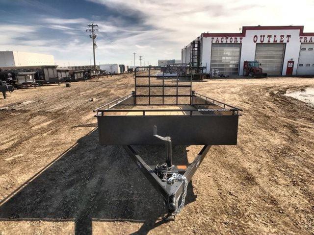 2020 Canada Trailers UT612-3K Single Axle Utility W/ 2,990 lbs GVWR