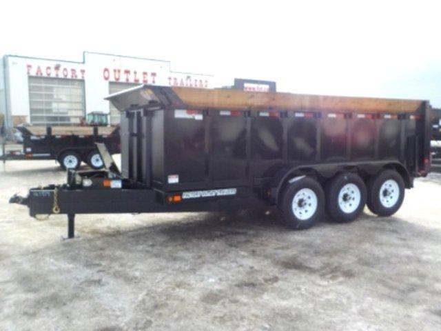 2020 Canada Trailers DT8314-21KTR Dump w/21,000 lbs. GVWR