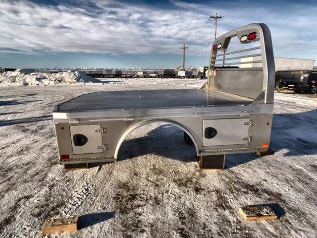 2019 CM  Truck Beds Standard Skirt Aluminum Bed