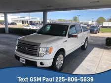 "2012 Ford F-150 2WD SuperCrew 145"" Platinum"
