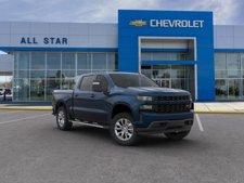 """2019 Chevrolet Silverado 1500 4WD Crew Cab 147"""" Custom"""