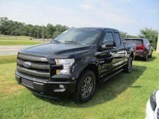 """2015 Ford F-150 4WD SuperCab 145"""" Lariat"""
