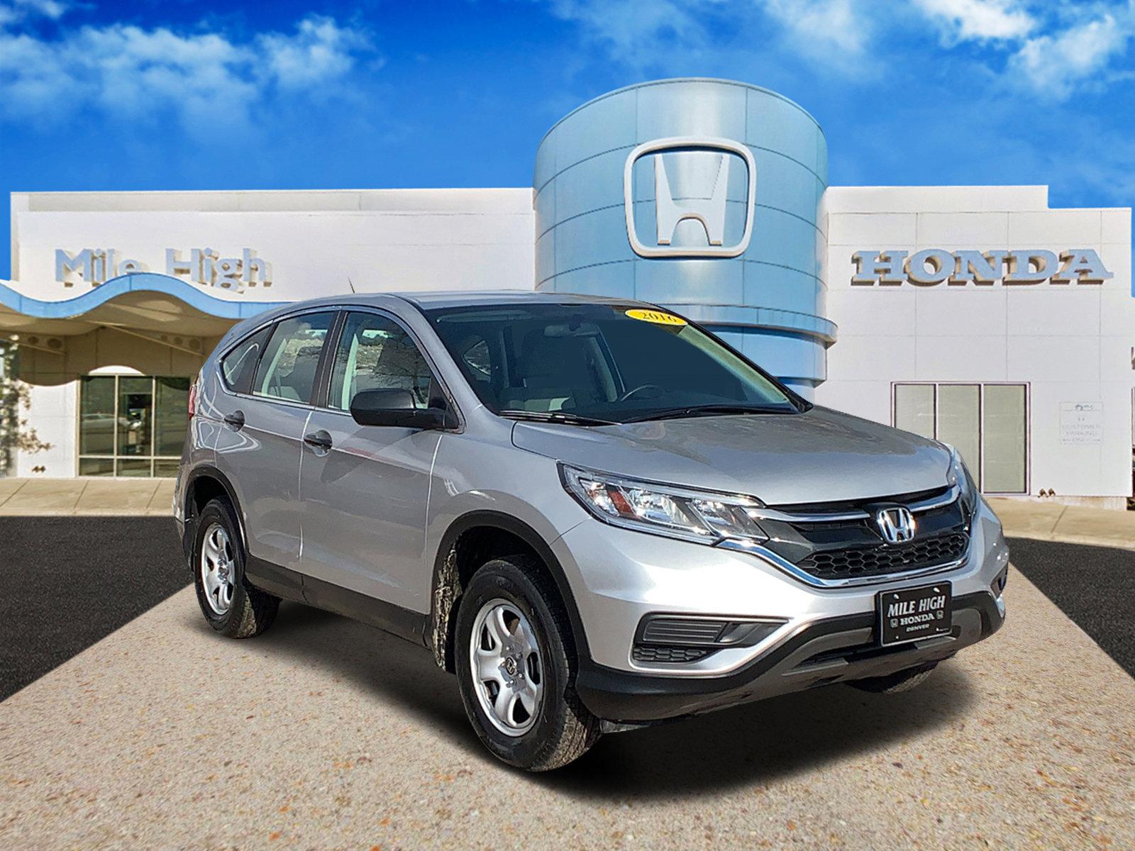 Special - 2016 Honda CR-V