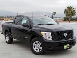 New 2017 Nissan Titan 4x2 Crew Cab S