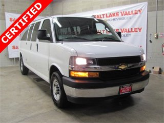 Used 2018 Chevrolet Express Passenger RWD 3500 155 LT