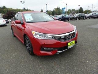 New 2017 Honda Accord Sedan Sport CVT w-Honda Sensing