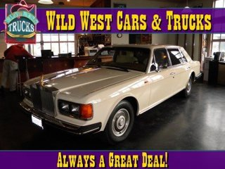 Used 1986 Rolls Royce Silver Spur 4Dr Luxury Sedan