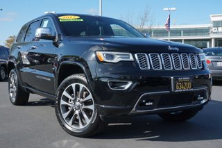 Used 2017 Jeep Grand Cherokee Overland 4x4 Sport Utility