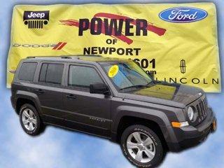New 2016 Jeep Patriot 4WD 4dr Sport