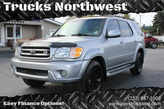 Used 2001 Toyota Sequoia 4dr Limited 4WD
