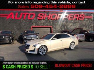 Used 2014 Cadillac CTS Sedan 4dr Sdn 3.6L Premium AWD