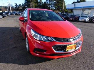 New 2017 Chevrolet Cruze 4dr Sdn 1.4L LS w-1SA