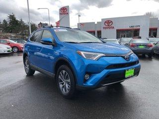 Used 2017 Toyota RAV4 Hybrid XLE AWD