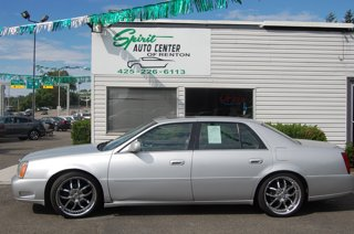 Used 2000 Cadillac DeVille DTS 4dr Sdn