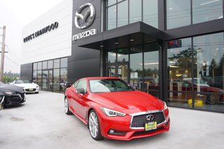 Used 2017 Infiniti Q60 Red Sport 400 AWD