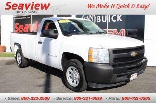 2011 Chevrolet Silverado 1500 2WD Reg Cab 133.0 Work Truck