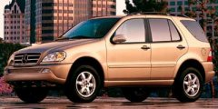 Used 2002 Mercedes-Benz M-Class 4dr AWD 3.2L
