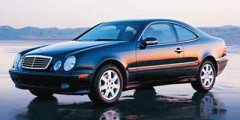 Used 2002 Mercedes-Benz CLK 2dr Coupe 4.3L