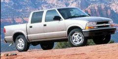 Used 2001 Chevrolet S-10 Crew Cab 123 WB 4WD LS