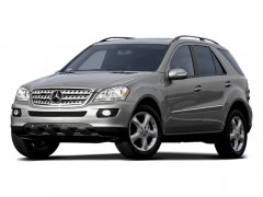 Used 2008 Mercedes-Benz M-Class 4MATIC 4dr 3.5L