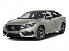 Used 2016 Honda Civic Sedan 4dr CVT LX