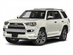 New 2017 Toyota 4Runner Limited 2WD