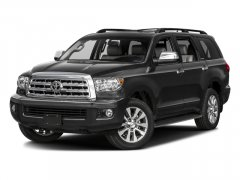 New 2017 Toyota Sequoia Limited 4WD FFV