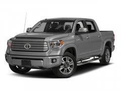 New 2017 Toyota Tundra Platinum CrewMax 5.5' Bed 5.7L FFV