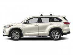 New 2017 Toyota Highlander Hybrid Limited V6 AWD