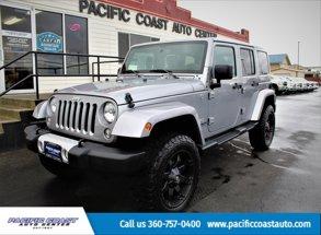 2015 Jeep WranglerUnlimited Sahara
