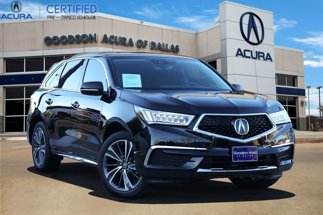 2020 Acura MDX Technology