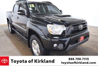 2013 Toyota Tacoma DOUBLE CAB 4X4