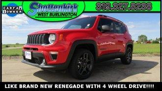 2021 Jeep Renegade 80th Anniversary