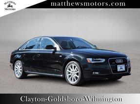 2016 Audi A4 2.0T Premium Quattro w/ Nav amp Sunroof