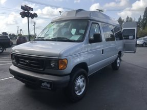 2005 Ford Econoline Cargo Van Wheelchair