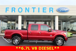 2016 Ford F-350 DIESEL Platinum 4X4 Crew Cab Short Bed