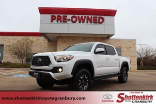 2018 Toyota Tacoma TRD Off Road Double Cab 5' Bed V6 4x4 AT