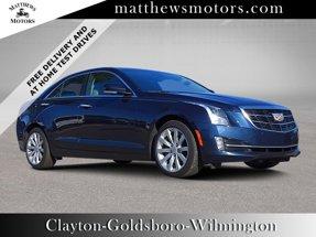 2018 Cadillac ATS Sedan Premium Luxury AWD w/ Nav & Sunroof