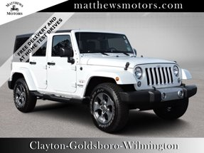 2016 Jeep Wrangler Unlimited Sahara 4WD