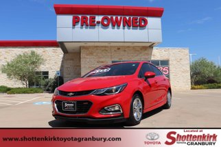 2018 Chevrolet Cruze 4dr Sdn 1.4L LT w/1SD RS