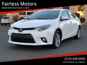 2014 Toyota Corolla LE Plus 4dr Sedan