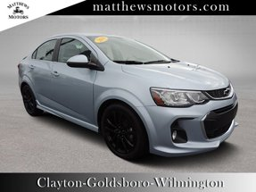 2018 Chevrolet Sonic LT w/ RS pkg amp Sunroof