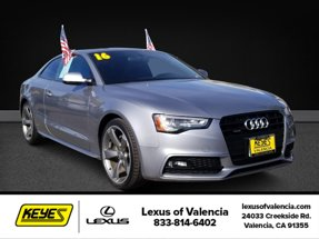 2016 Audi A5 w/Navigation Premium Plus