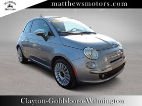 2017 FIAT 500 Lounge Hatch w/ Sunroof
