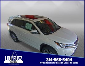 2019 Toyota Highlander Limited Platinum