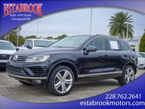 2017 Volkswagen Touareg Executive